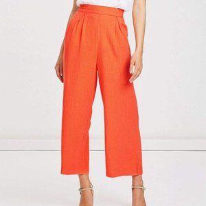 Charlie Holiday  Morgan Pant Tangerine 4 NWT